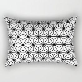 Geometric Flowers and Florals Isosceles Triangle Rectangular Pillow