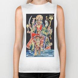 Goddess Durga Biker Tank