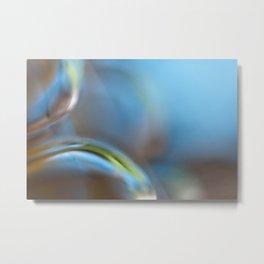 Glass Abstract  - JUSTART © Metal Print