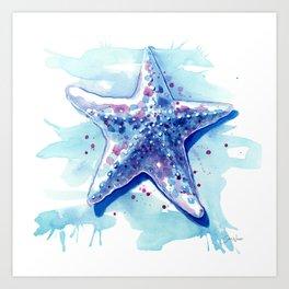 Starfish Waters I Art Print