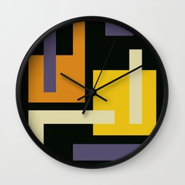 About Black Wall Clock