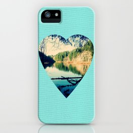 Lost Lake Love iPhone Case