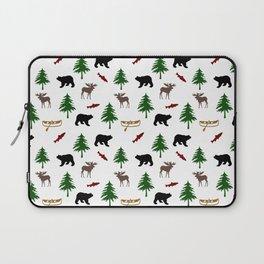 Moose Bear Laptop Sleeve