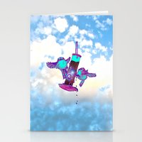 tits Stationery Cards featuring Beautiful Space Tits by HiddenStash Art