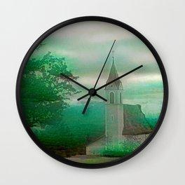 Fata Iglesia Alpina Wall Clock