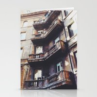 roman Stationery Cards featuring Roman Balconies by Forgotten Charm
