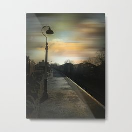Bitton Railway Platform Metal Print