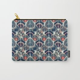 Geometric Retro Pattern Carry-All Pouch