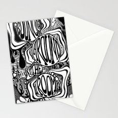 Bouncing Around the Room Stationery Cards