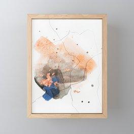 Divide #6 Framed Mini Art Print