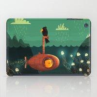 submarine iPad Cases featuring Submarine by Ilias Sounas