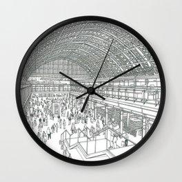 St Pancras railway station Wall Clock