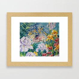 Tiger Lily II Framed Art Print