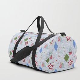 Christmas pattern. Duffle Bag