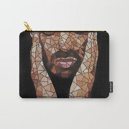 portrait,ovo,scorpion,geometric,rapper,colourful,colorful,poster,wall art,fan art,music,hiphop Carry-All Pouch
