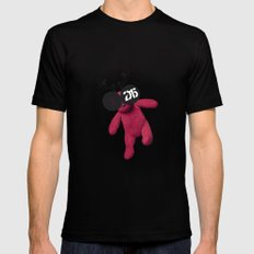 Little Pink Bear said :: Happy New Year 2015 :) '' Black Mens Fitted Tee MEDIUM