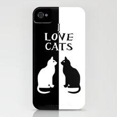 OPPOSITES LOVE: CATS Slim Case iPhone (4, 4s)