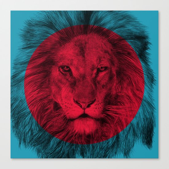 Wild 5 by Eric Fan & Garima Dhawan Canvas Print