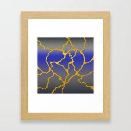 A Mended Heart Framed Art Print