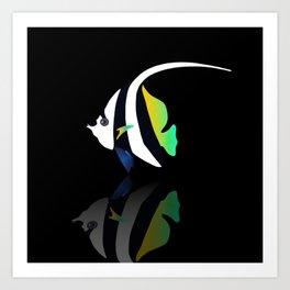tropical fish 11 Art Print