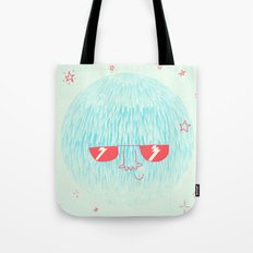Chill Space Planet Tote Bag