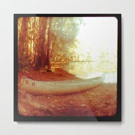 TTV Caddo Lake Canoe  Metal Print