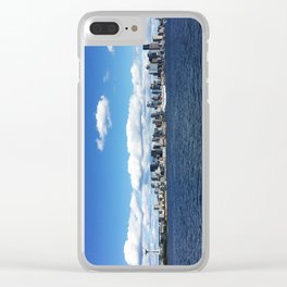 Seattle Skyline - #1 Clear iPhone Case