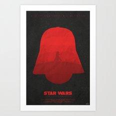 Darkness - The Force Awakens Art Print