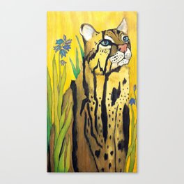 Little Big Kitty Canvas Print