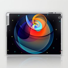 Other dimensions, colourful fractal abstract Laptop & iPad Skin