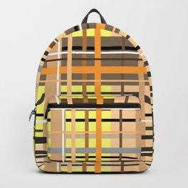 Sunny tartan plaid pattern Backpack