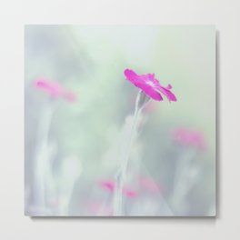 Dreaming in fuchsia Metal Print