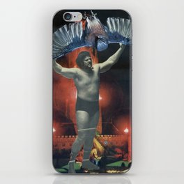 Kaiji Powerslam - Vintage Collage iPhone Skin