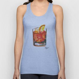 Negroni Cocktail Hour Unisex Tank Top