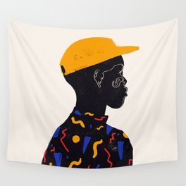 Yellow one Wall Tapestry