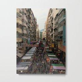 market day Metal Print