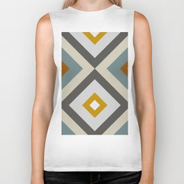 Mid West Geometric 04 Biker Tank