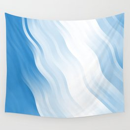 wavy lines pattern wb Wall Tapestry