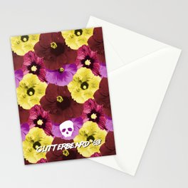 Glitterbeards Never Say Die  Stationery Cards
