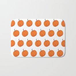 Pumpkin Polka Dots Bath Mat