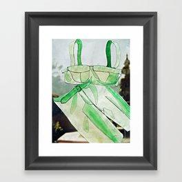 Seaside Soirée Framed Art Print
