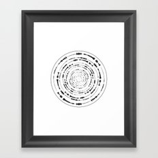 I Wouldn't Normally Do This Type Of Thing (the Rite of Spring) Framed Art Print