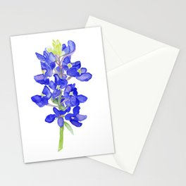 Bluebonnet Watercolor Stationery Cards