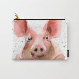 Pig portrait Carry-All Pouch