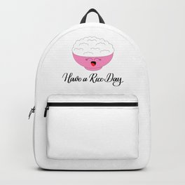 Have a Rice Day Backpack