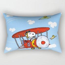 Snoopy Into the sky Rectangular Pillow
