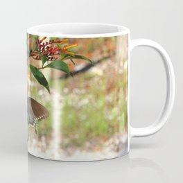 Butterfly and Firebush Coffee Mug