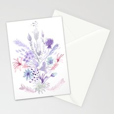 Colorful flowers Stationery Cards
