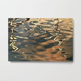 Water Reflection 4 Metal Print