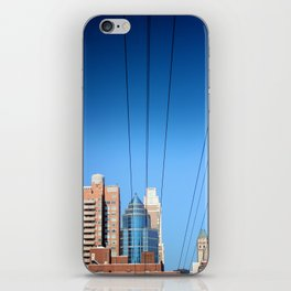 Buildings and Power Lines iPhone Skin